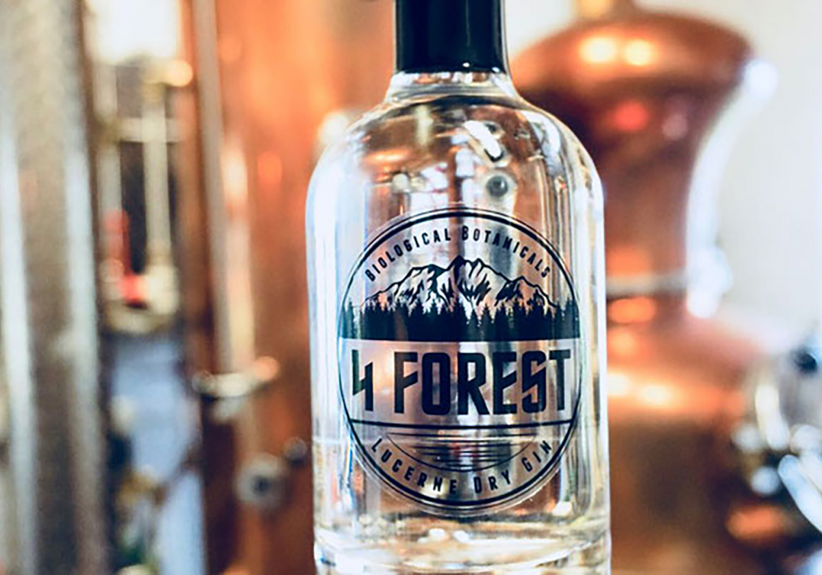 4 Forest Lucerne Dry Gin